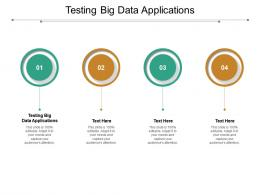 Testing Big Data Applications Ppt Powerpoint Presentation Show Example Cpb