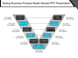 Testing Business Process Model Sample Ppt Presentation