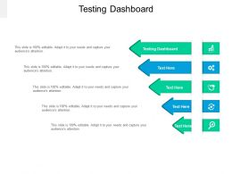 Testing Dashboard Ppt Powerpoint Presentation Icon Aids Cpb