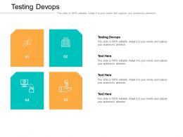 Testing Devops Ppt Powerpoint Presentation File Layouts Cpb