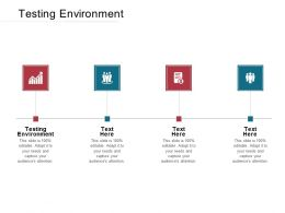 Testing Environment Ppt Powerpoint Presentation Model Visuals Cpb