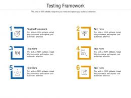 Testing Framework Ppt PowerPoint Presentation Example 2015 Cpb