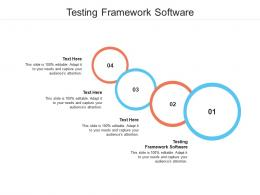 Testing Framework Software Ppt Powerpoint Presentation Summary Deck Cpb