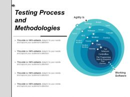 Testing Process And Methodologies Ppt Sample Presentations