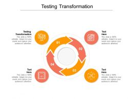 Testing Transformation Ppt Powerpoint Presentation Inspiration Slides Cpb