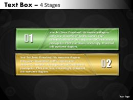 Text Box diagram 2 Stages 18