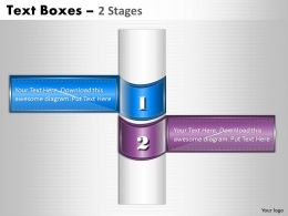 Text Boxes 2 Stages 21