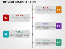 text_boxes_in_business_timeline_flat_powerpoint_design_Slide01