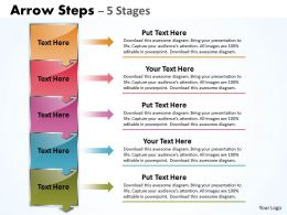 Text Boxes PPT Diagram