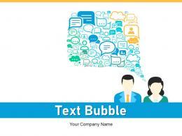 Text Bubble Emotional Financial Management Maximization Business