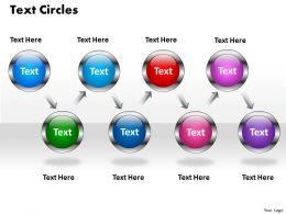 text circles 4