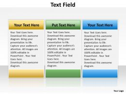 Text Field ppt 20