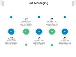 Text Messaging Ppt Powerpoint Presentation Show Slides Cpb