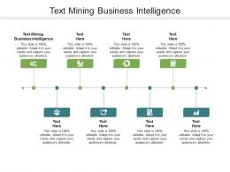 Text Mining Business Intelligence Ppt Powerpoint Presentation Inspiration Master Slide Cpb