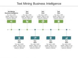 Text Mining Business Intelligence Ppt Powerpoint Presentation Inspiration Master Slide Cpb