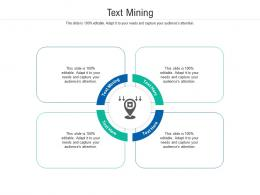Text Mining Ppt Powerpoint Presentation Gallery Layout Ideas Cpb