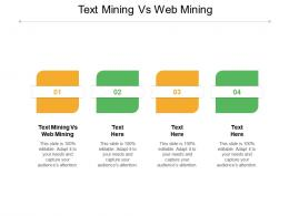 Text Mining Vs Web Mining Ppt Powerpoint Presentation File Structure Cpb