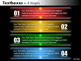 Textbox 4 Stages diagram 32