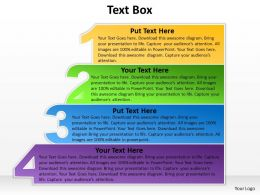 TextBox four steps diagram 31