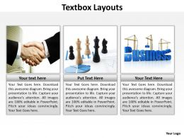 Textbox Layouts 74