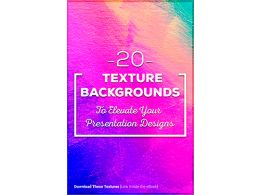 20 Texture Backgrounds to Elevate Your Presentation Designs