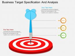 th Business Target Specification And Analysis Flat Powerpoint Design