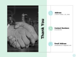Thank You Business Emergency Management Ppt Powerpoint Presentation Gallery Model