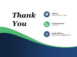 Thank You Business Process Automation Powerpoint Presentation Slides
