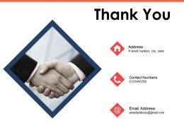 Thank You Closing The Strategy To Performance Gap Ppt Powerpoint Presentation Outline Background Image