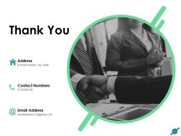Thank You Company Achievements And Challenges Powerpoint Presentation Slides