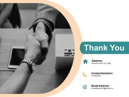 Thank You Company Success And Hurdles Powerpoint Presentation Slides