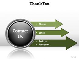 thank you contact us ppt slides diagrams templates powerpoint info graphics