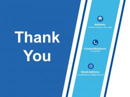 Thank You Corporate Finance Ppt Professional Topics