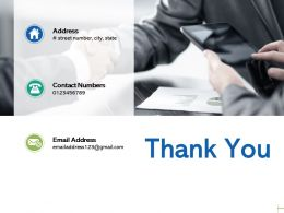 Thank You Data Governance C22 Ppt Powerpoint Presentation Gallery Visuals