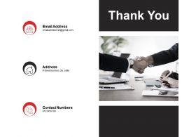 Thank You Data Governance Program