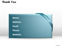 thank you details ppt slides presentation diagrams templates powerpoint info graphics