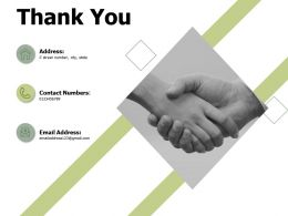 Thank You E Commerce Industry Introduction Ppt Powerpoint Presentation File Visuals