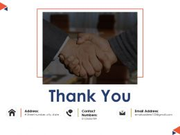 Thank You Expence Ppt Powerpoint Presentation File Background Designs