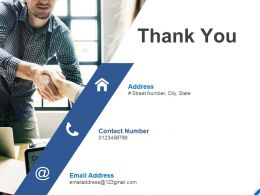 Thank You Facebook Marketing Complte Ppt Powerpoint Presentation Infographics Themes