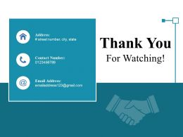 Thank You For Watching Ppt Styles Master Slide