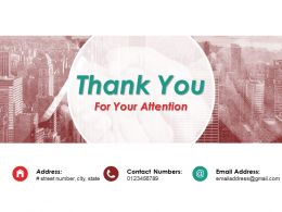 Thank You For Your Attention Ppt Slide Examples