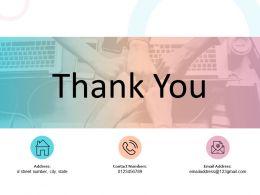 Thank You Jidoka Powerpoint Presentation Slides