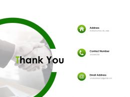 Thank You Marketing Action Plan Ppt Powerpoint Presentation Layouts Inspiration