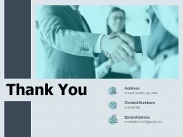 Thank You Monthly Business Assessment Ppt Powerpoint Presentation Ideas Icon