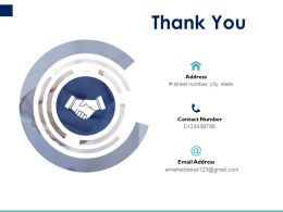 Thank You Pitch Deck To Raise Funding From Equity Crowdfunding Ppt Powerpoint Presentation Icon