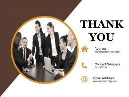 Thank You Powerpoint Presentation Examples Templates 1
