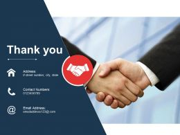 Thank You Powerpoint Slide Background Image