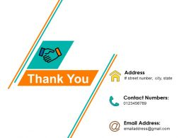 Thank You Powerpoint Slide Ideas Template 1