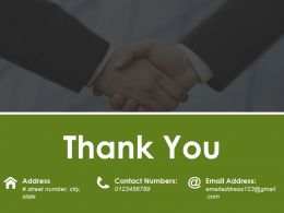 Thank You Powerpoint Slides Design Template 1