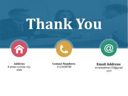 Thank You Ppt Background Graphics Template 1